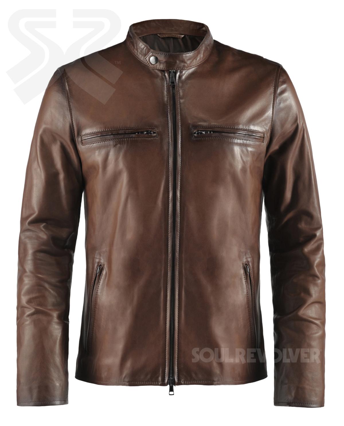 by Soul Revolver on Soul Revolver Vintage Leather Jackets for Men