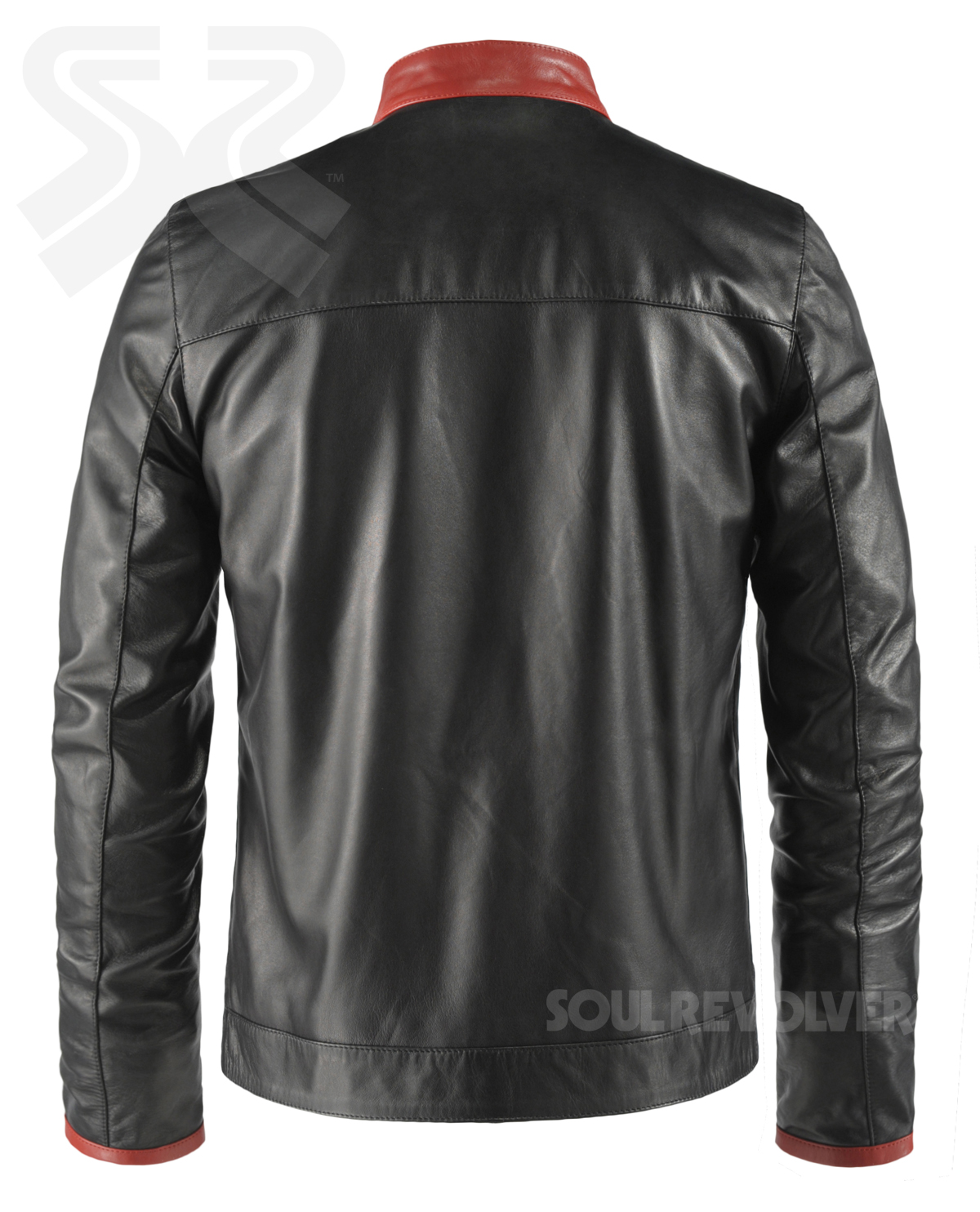 Dark knight leather jacket